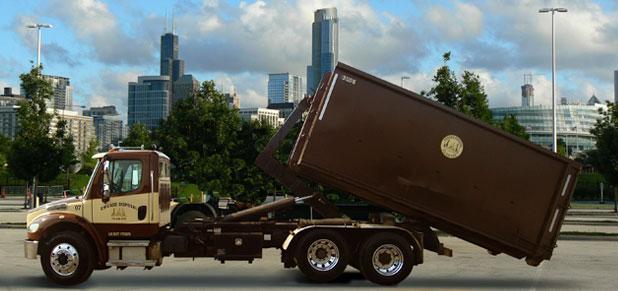 roll-off dumpster